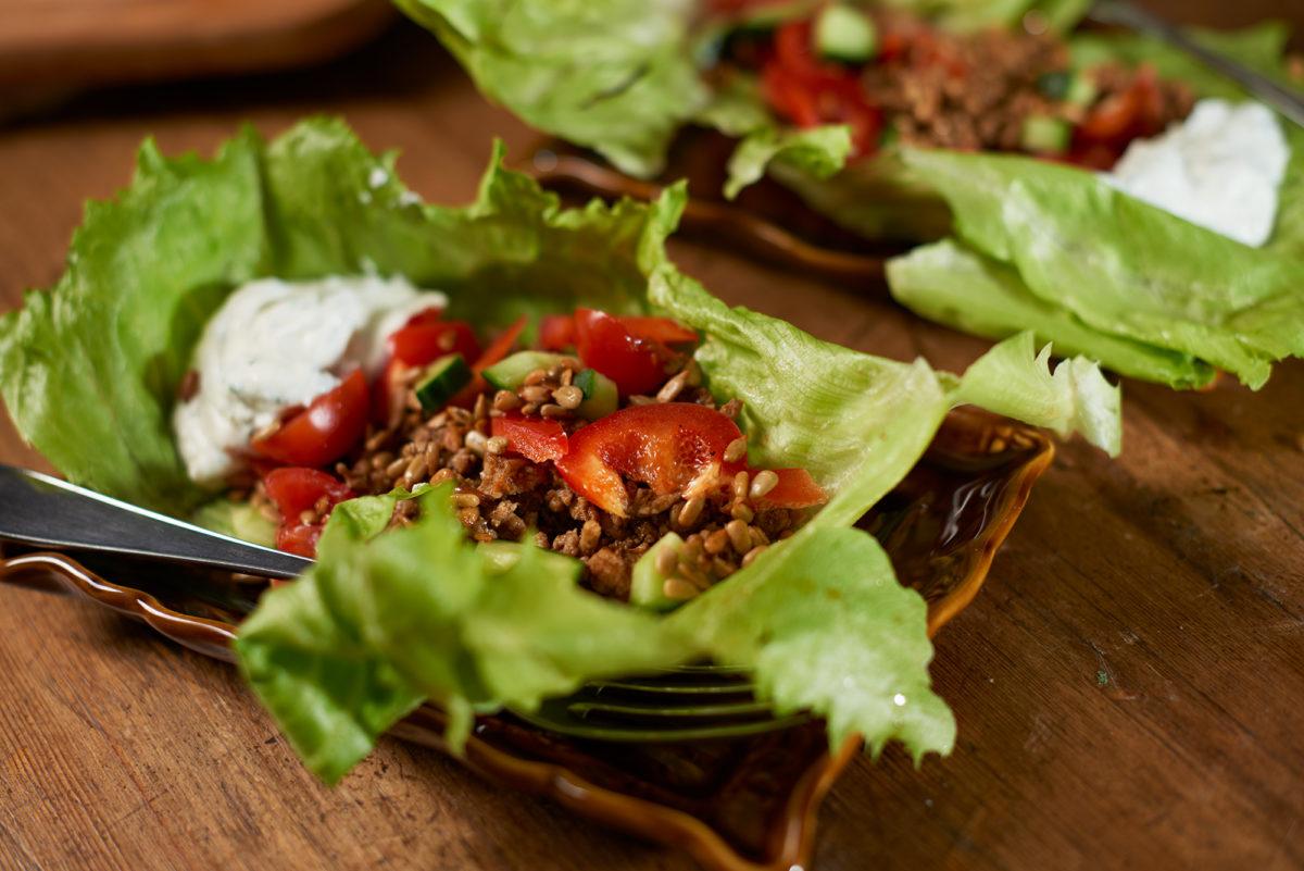 07__Taco i salladsklämma med örtsås